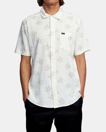 1 Prarie Floral Short Sleeve Shirt White AVYWT00206 RVCA