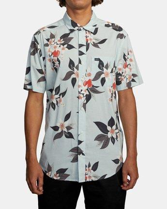 1 Anaheim Short Sleeve Shirt Green AVYWT00220 RVCA