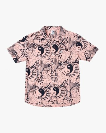 RVCA TOWN COUNTRY SS  AVYWT00256
