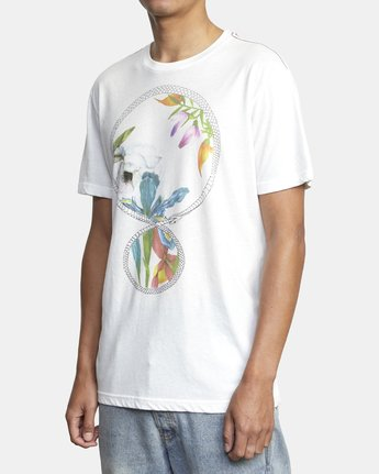 2 INFINITE SHORT SLEEVE White AVYZT00137 RVCA