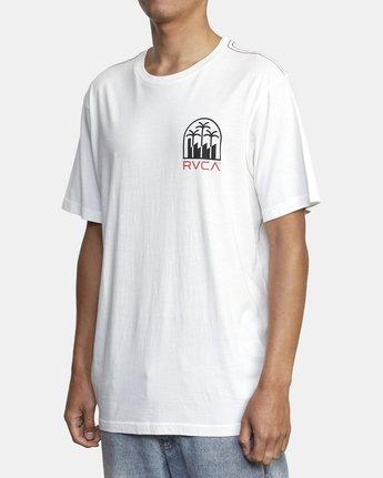 4 DE-SAL SHORT SLEEVE TEE White AVYZT00155 RVCA
