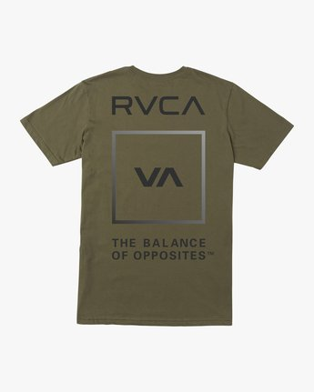 1 VA GLORY SHORT SLEEVE PERFORMANCE TEE Green AVYZT00187 RVCA
