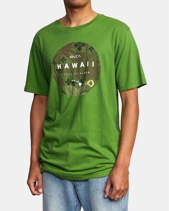 5 HAWAII MOTORS SHORT SLEEVE TEE Multicolor AVYZT00193 RVCA
