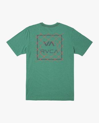 1 LINX SHORT SLEEVE TEE Green AVYZT00213 RVCA