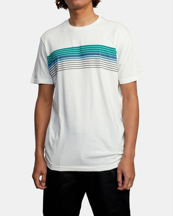 1 STRATE UP SHORT SLEEVE TEE White AVYZT00215 RVCA