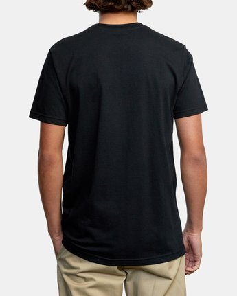 3 SPLIT TRUTH SHORT SLEEVE TEE Black AVYZT00232 RVCA
