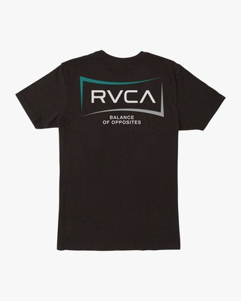 1 RETURN SHORT SLEEVE TEE Black AVYZT00235 RVCA