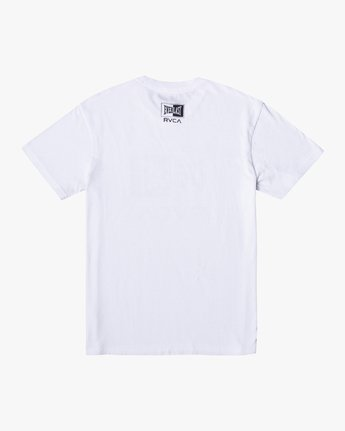 1 EVERLAST BOX SHORT SLEEVE WORKOUT T-SHIRT White AVYZT00287 RVCA