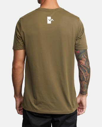 2 VA OUT TEE Green AVYZT00320 RVCA
