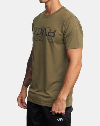 1 VA OUT TEE Green AVYZT00320 RVCA