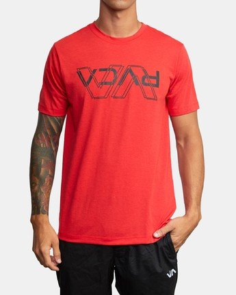 0 VA OUT TEE Red AVYZT00320 RVCA