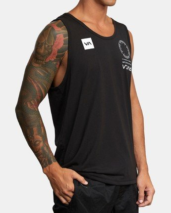 2 VA MARK TANK Black AVYZT00351 RVCA