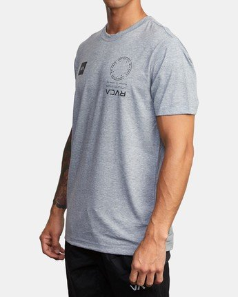 1 VA MARK TEE Grey AVYZT00355 RVCA