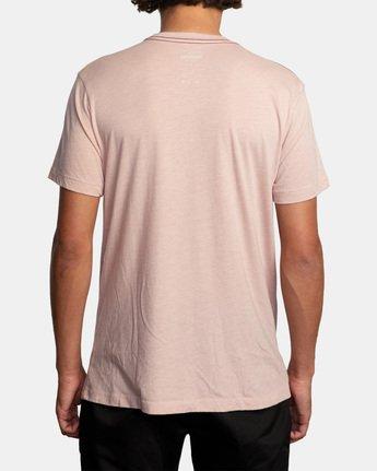 2 Joshua Trip Short Sleeve Tee Grey AVYZT00463 RVCA
