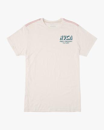 0 Trax Short Sleeve Tee White AVYZT00465 RVCA