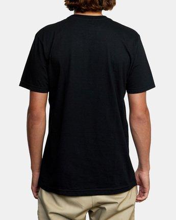 2 Balance Box Short Sleeve Tee Black AVYZT00479 RVCA