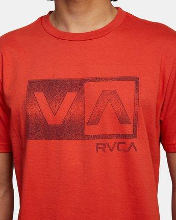 5 Balance Box Short Sleeve Tee White AVYZT00479 RVCA