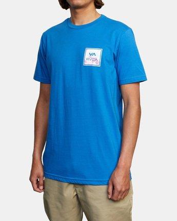 5 VA All The Way Short Sleeve Tee Blue AVYZT00480 RVCA