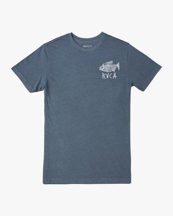 0 Dead See Short Sleeve Tee Grey AVYZT00489 RVCA