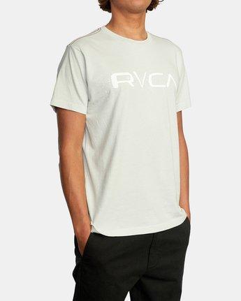 4 Bleecher Short Sleeve Tee Green AVYZT00491 RVCA