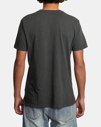 2 Bleecher Short Sleeve Tee Black AVYZT00491 RVCA