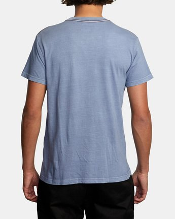 2 Bleecher Short Sleeve Tee Grey AVYZT00491 RVCA