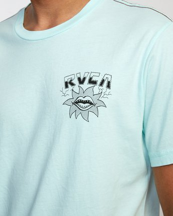4 DMOTE STARFISH SHORT SLEEVE TEE White AVYZT00509 RVCA