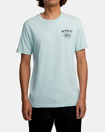 2 DMOTE STARFISH SHORT SLEEVE TEE White AVYZT00509 RVCA