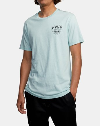 5 DMOTE STARFISH SHORT SLEEVE TEE White AVYZT00509 RVCA