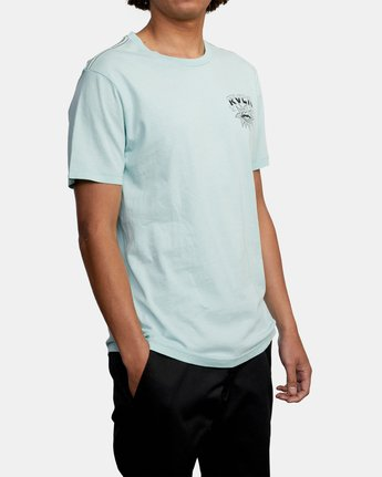 6 DMOTE STARFISH SHORT SLEEVE TEE White AVYZT00509 RVCA