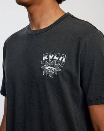 4 DMOTE STARFISH SHORT SLEEVE TEE Black AVYZT00509 RVCA