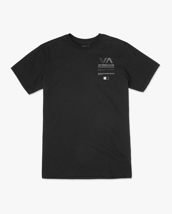0 Reflective RVCA Balance Box Short Sleeve Tee Black AVYZT00517 RVCA