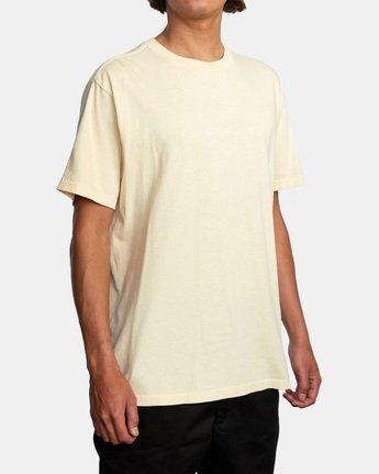 5 Balance Highlight Short Sleeve Tee Beige AVYZT00519 RVCA