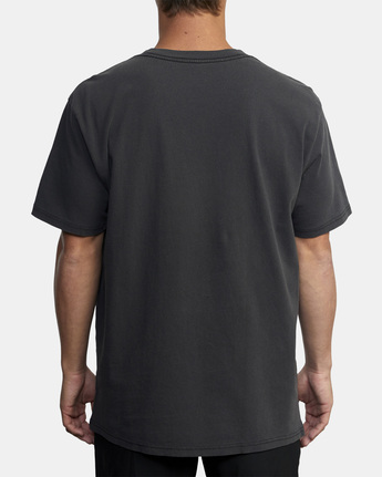 2 RVCA Balance Block Short Sleeve Tee Black AVYZT00521 RVCA
