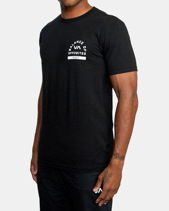 4 RVCA PE Short Sleeve Tee Black AVYZT00528 RVCA