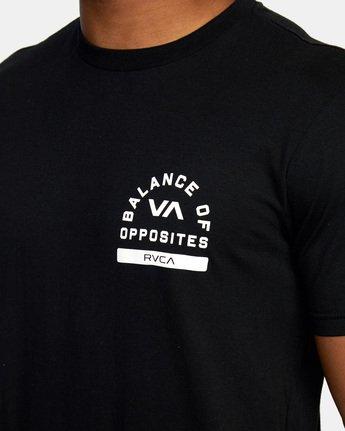 7 RVCA PE Short Sleeve Tee Black AVYZT00528 RVCA