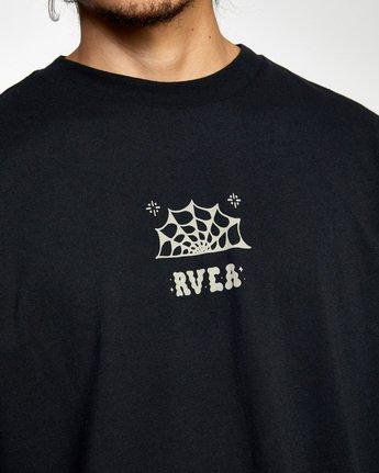 4 Jesse Brown Long Sleeve T-Shirt Black AVYZT00767 RVCA