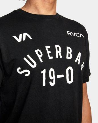 6 RVCA X SENIESA ESTRADA WALKOUT FIGHT TEE Black AVYZT00873 RVCA