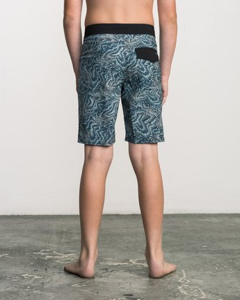 4 Boy's Halston Printed Trunk Multicolor B101SRHA RVCA