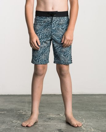 1 Boy's Halston Printed Trunk Multicolor B101SRHA RVCA