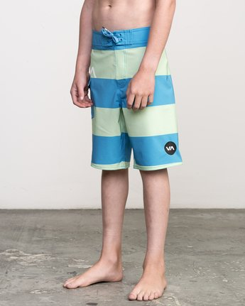 2 Boy's Uncivil Stripe Trunk  B103NRUN RVCA