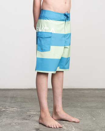 6 Boy's Uncivil Stripe Trunk  B103NRUN RVCA