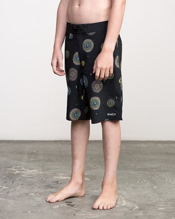 2 Boy's Pelletier Trunk Black B103PRPE RVCA