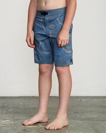 "1 Boy's Whitehead Flicker 17"" Trunk Blue B103URTF RVCA"