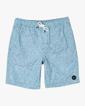 1 Boys CLUB ELASTIC SHORT Brown B1071RCE RVCA