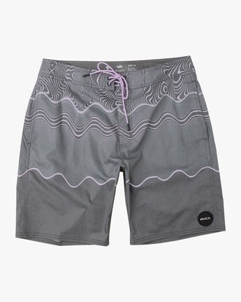 0 Boy's Pulled Lines Trunk  B149TRPU RVCA