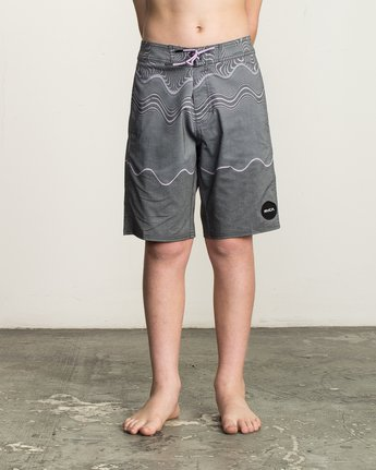 1 Boy's Pulled Lines Trunk  B149TRPU RVCA