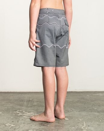 3 Boy's Pulled Lines Trunk  B149TRPU RVCA