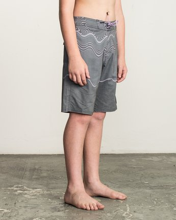 6 Boy's Pulled Lines Trunk  B149TRPU RVCA