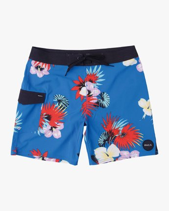 0 Boys VA Printed Trunk Blue B155TRVA RVCA